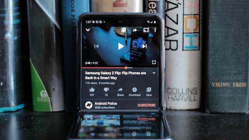 App do YouTube ganha otimização para o Galaxy Z Flip