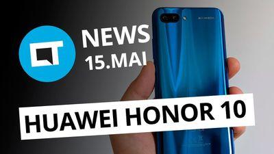 Huawei anuncia Honor 10; Galaxy J4 e J6 vazam; Helicóptero em Marte e+ [CT News]