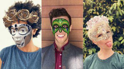 Snapchat lança lentes TrueDepth equipadas com máscaras de realidade aumentada