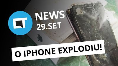 iPhone 7 explodindo, Spotify comprando Soundcloud, passeio pelo data center do Facebook e + [CTNews]
