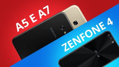 Zenfone 4 vs Galaxy A5 E A7 [Comparativo]