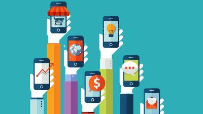 Compras online via dispositivos móveis cresceram 34% em 2017
