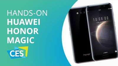 Huawei Honor Magic: smartphone premium por 350 dólares [Hands-on CES 2017]