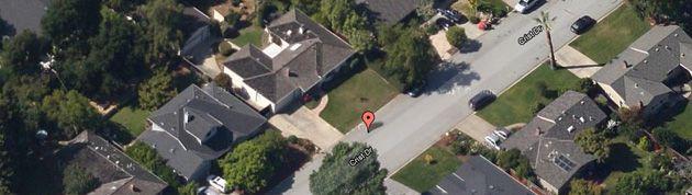 Garagem da Apple no Google World