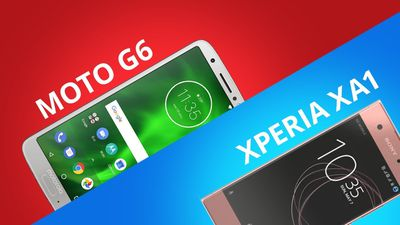 Comparativo | Motorola Moto G6 vs Sony Xperia XA1