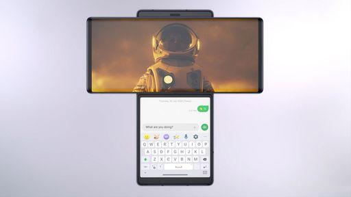 Diferentão! LG Wing traz tela giratória que expõe display secundário