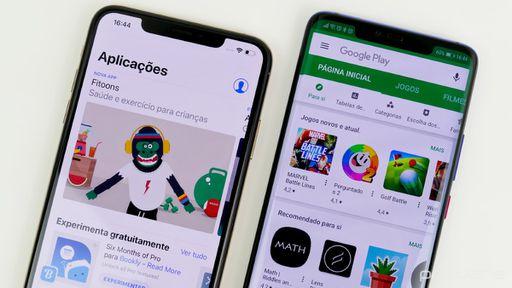 App Store e Play Store batem recorde com 37 bilhões de downloads no 2º trimestre