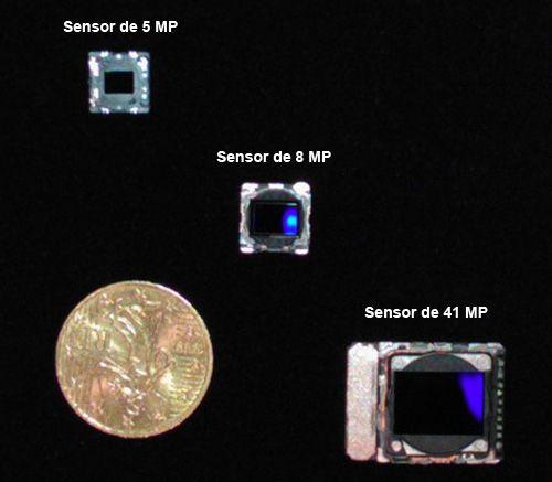 Diferença dos sensores