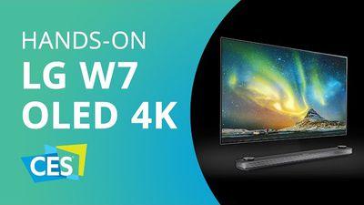 LG apresenta TV mais fina do mundo: 3,85 mm de espessura! [Hands-on CES 2017]