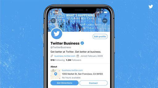 Twitter testa novo perfil profissional para a versão corporativa da rede social