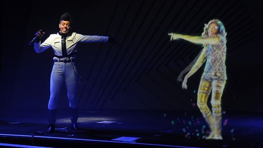 Empresa quer criar hologramas de celebridades para se apresentarem em shows
