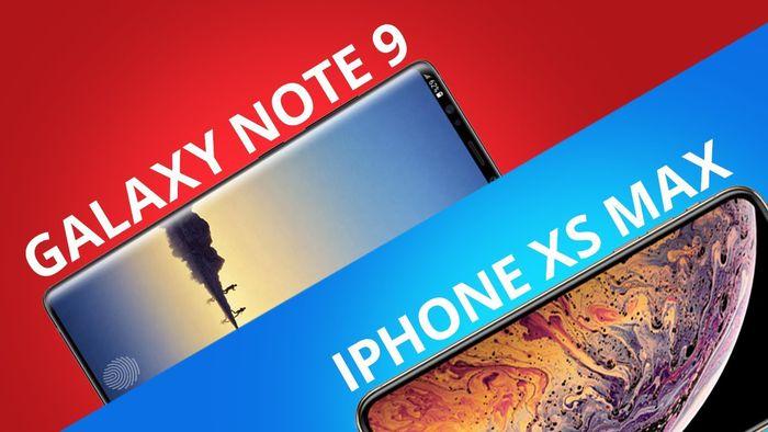 Comparativo   iPhone Xs Max vs Galaxy Note 9 6afe9f85c4