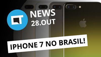 Lançamento do iPhone 7 no Brasil, iPhone vs Pixel, Pornhub quer Vine e + [CTNews