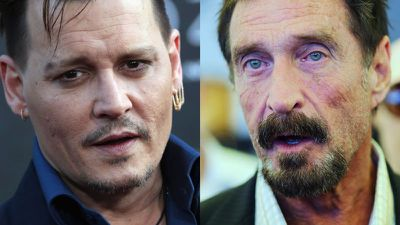 Johnny Depp interpretará John McAfee no cinema