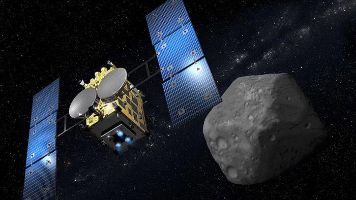 Robôs da espaçonave Hayabusa2 são liberados para pousar no asteroide Ryugu
