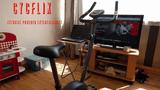 Fim do sedentarismo: Cycflix obriga usuários a pedalarem para assistir Netflix