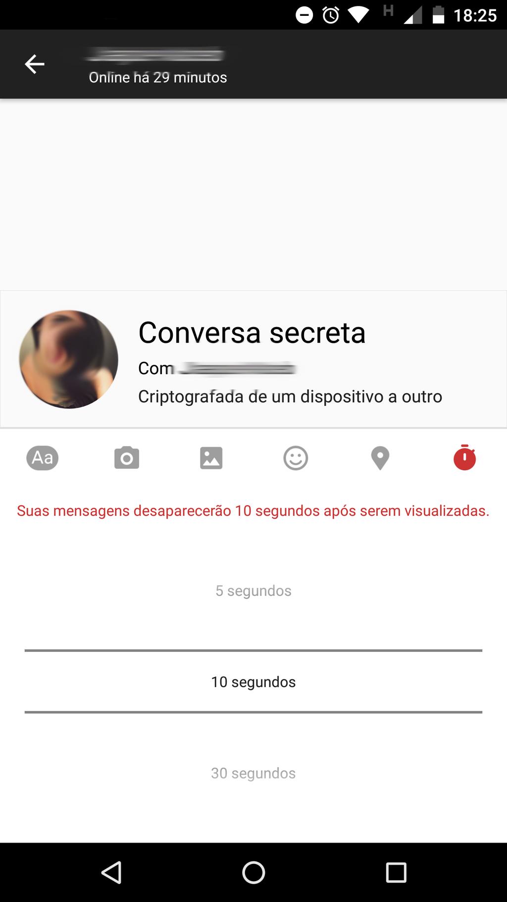 Criptografia Messenger