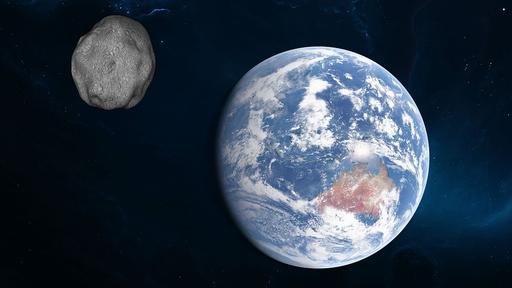 Asteroide passou perto da Terra no domingo (25), mas não representou riscos