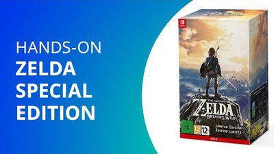 Zelda Special Edition para Nintendo Switch [Unboxing]
