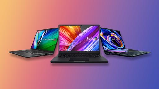 ASUS anuncia notebooks ProArt, Zenbook e Vivobook com OLED para profissionais