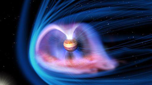 Aurora misteriosa de Júpiter é desvendada após 40 anos de dúvidas