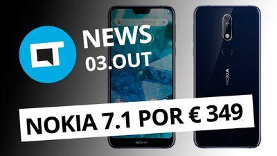 Nokia 7.1: preços e detalhes; iOS 12.1 corrige bugs do iPhone XS e + [CT News]