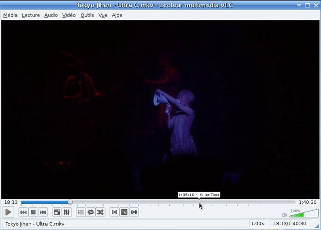 VLC player no Mandriva Linux