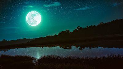 Um pessoal que está fumando demais acha que a Lua vai ficar verde no dia 20/04