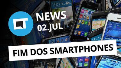 Fim dos smartphones; iPhone chinês e + [CT News]