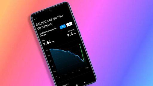 Como ver o consumo de bateria do seu Xiaomi na MIUI 12