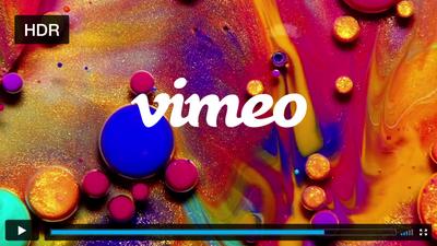 Vimeo agora passa a oferecer suporte a vídeos HDR e em resoluções até 8K