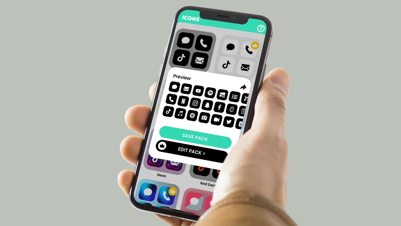 Melhores aplicativos com pacotes de ícones para celular