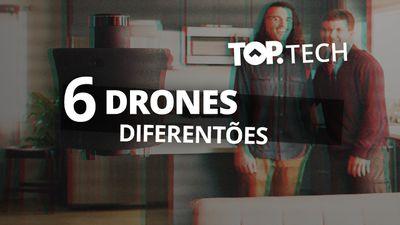 6 drones mais doidos que você já viu