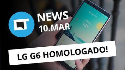 LG G6 no Brasil, WhatsApp volta atrás, golpe do FGTS e + [CTNews]