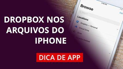 """Como usar o app """"Arquivos"""" do iOS 11 #DicaDeApp"""