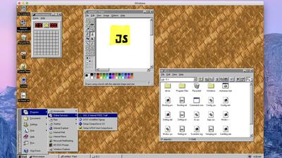 Windows 95 vira aplicativo para versões recentes do Windows, Linux e macOS