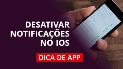 Como desativar notificações de apps no iPhone