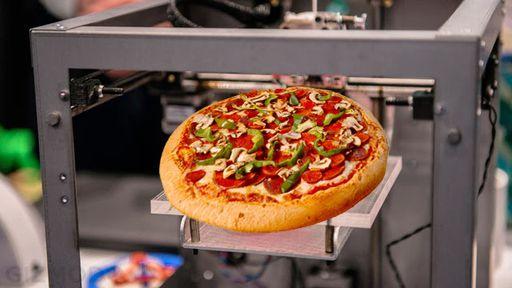Impressora 3D que fabrica pizza e chocolate chega às lojas em 2014