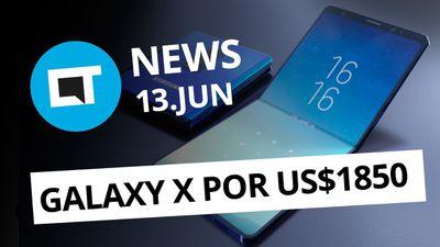 Galaxy Note 9 com 4.000 mAh; Smartphone dobrável da Samsung e + [CT News]