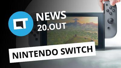 Novidades Futurecom 2016; Nintendo NX é Switch!; smartphone Kodak e + [CTNews]