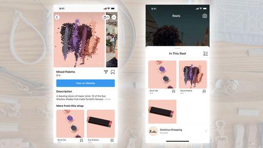 Instagram Shopping agora funciona também nos vídeos curtos do Reels