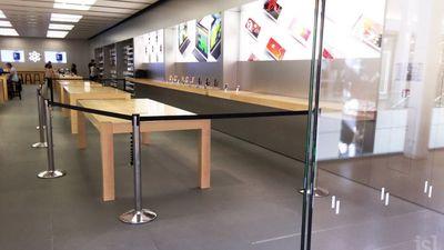 Francês destrói todos os iGadgets que vê pela frente numa Apple Store
