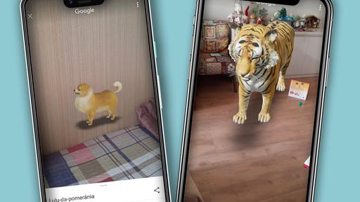 Como pesquisar e ver animais em 3D no Google