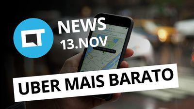 WhatsApp pode estar chegando ao iPad; Uber promete viagens mais baratas e +