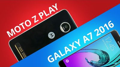Moto Z Play vs Samsung Galaxy A7 (2016) [Comparativo]