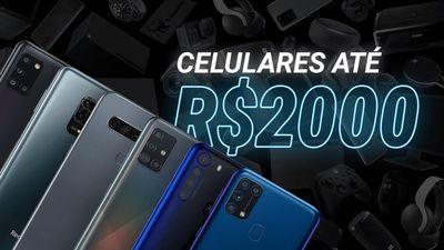 Melhores celulares até R$2000 para comprar na Black Friday