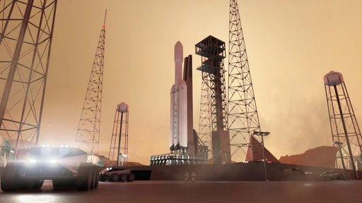 Como seria uma estação de abastecimento em Marte? Esses conceitos te mostram