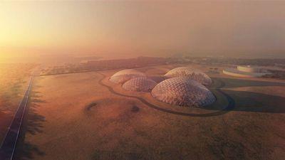 Protótipo de cidade marciana está sendo construído em deserto de Dubai