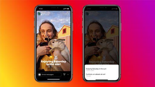 Instagram libera tradução automática de textos de Stories para todos
