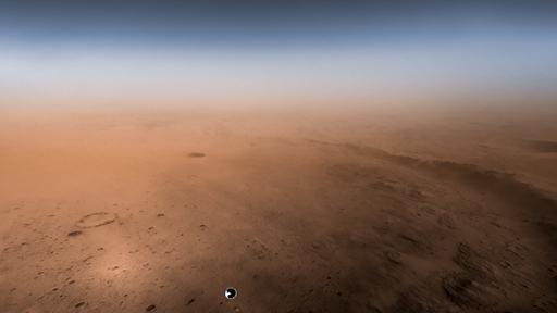 Cientista cidadão produz imagens coloridas da descida do Perseverance em Marte